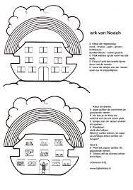 Uniek Bijbelse Kleurplaten Ark Van Noach Klupaatswebsite