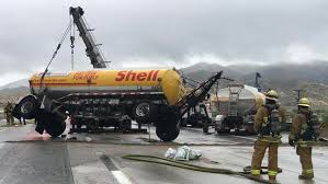 Northbound 14 Freeway Closed After Fuel Tanker Crash - NBC Southern ...