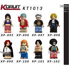 Mua Bộ mô hình minifigures One piece KT1013 chỉ 17.000₫
