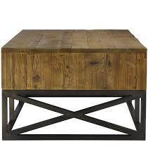 trend of apothecary coffee table and drawer pine wood coffee table