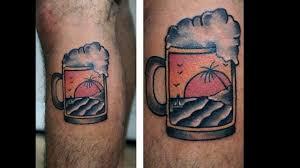 тату пиво 60 пивных татуировок для парней
