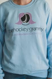 Hockey Grammy Crew Sweatshirt The Hockey Mommy