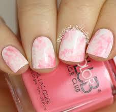 Kelli Marissa: Pink Marble Watercolor Nail Art