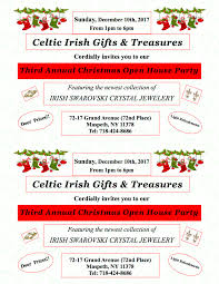 celtic irish gifts treres party 2017