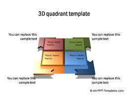 Powerpoint Quadrant Template Page 1