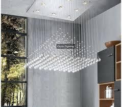 modern chandeliers for foyer
