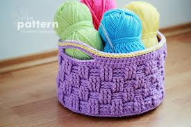 Free Crochet Basket Patterns Magnificent Big Crochet Basket Pattern No 48 Zoom Yummy Crochet Food