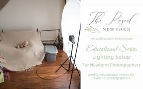 Feathering Light Newborn Photography Lighting Setup For Newborn Photography Theposednewbornblog Com