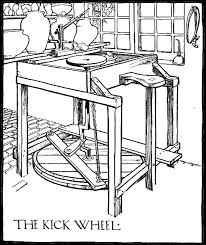 pottery kick wheel plans. the kick wheel. pottery kick wheel plans