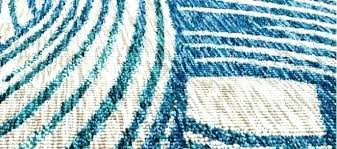 outdoor teal and turquoise fish rug indoor chevron keira area
