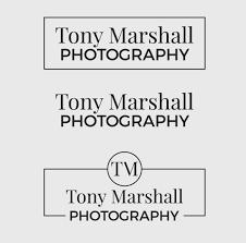 Tony Designs Professional Upmarket Professional Photography Logo Design