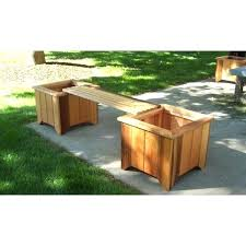 outdoor planter bench planter bench set free outdoor potting bench plans