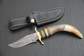 You'll receive email and feed alerts when new items arrive. Original Pakistan Hunting Knives Of Damascus Knives Stag Catawiki
