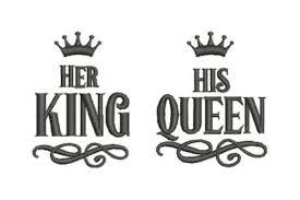 Her King His Queen Creative Fabrica