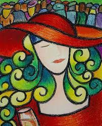 oil pastel paintings for beginners