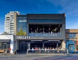 modern restaurant building. Wonderful Building Trolley Five Restaurant U0026 Brewery  Modern Office Of Architecture  Design Inside Building A