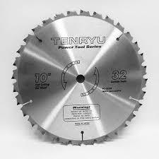 tenryu blades. tenryu saw blade 10 x 5/8 32 teeth fast cutting wood miter blades