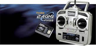 Futaba Skysport T4YF Handheld RC 2,4 GHz No. of channels: 4 Incl. receiver