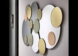 Small Picture Tonelli Atomic Wall Mirror Modern Wall Mirrors Tonelli Design