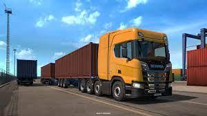 تحميل لعبة Euro Truck Simulator 2 يورو ترك سيميولايتر 2 برابط مباشر ميديا  فاير مضغوطة
