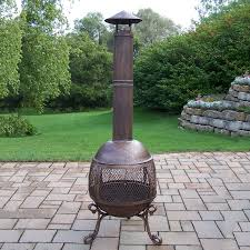 cast iron outdoor wood burning fireplace