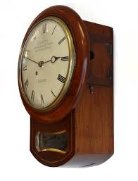 timepiece fusee 8 inch drop dial wall clock antique fusee dial wall clocks