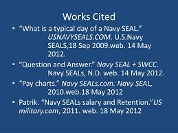 Us Navy Pay Chart 2012 Ppt U S Navy Seals By Jace Roshell Powerpoint