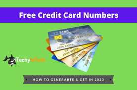 Credit cards are widely used right now, and it's the preferred way to pay for online products. 200 Free Credit Card Numbers With Cvv Updated Today List