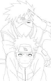 Naruto Coloring Pages Akatsuki Of Printable Download Color
