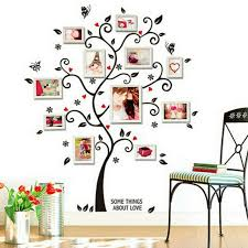 small family tree wall stickers birds