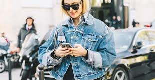 How to Wear the <b>Oversize Denim</b> Jacket Trend | Who What Wear
