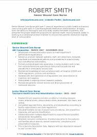 Wound Care Charting Example Wound Care Nurse Resume Samples Qwikresume