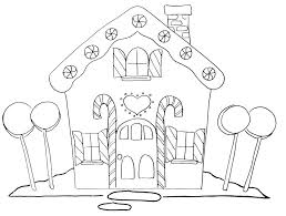 Free Hand Embroidery Pattern Gingerbread House
