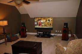 Bedroom:Cream Paint Color Attic Bedroom Ideas Awesome Small Multimedia Room  In Attic Ideas