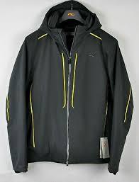 Kjus Mens Boval Insulated Ski Snow Jacket Ms15 E08 Dark