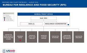 Usaid Org Chart The Bureau For Resilience And Food Security Rfs