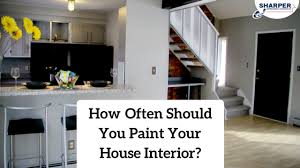 how often should you paint your house interior