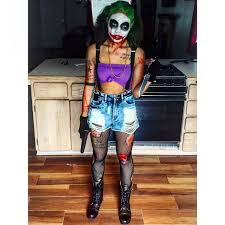 makeup female joker