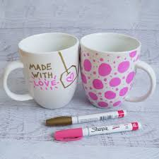 Sharpie Cup Designs Sharpie Mug Diy Project Popsugar Smart Living