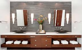 Backsplash Bathroom Ideas Interesting Natural Stacked Stone Backsplash Tiles For Kitchens And Bathrooms