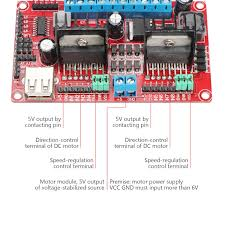 drok dc dc 5 30v l298n v3 dual h bridge stepper motor driver Drok L298n V3 Wiring Diagram works great! i'm only using it for the h bridges works great! i'm only using it for the h bridges to drive my robot, but apparently it can do much more