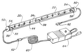 US06283612 20010904 D00000 patent us6283612 light emitting diode light strip google patents on kichler under cabinet lighting wiring diagram