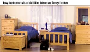 dorm bedroom furniture. heavy-duty-commercial-grade-solid-pine-bedroom-and- dorm bedroom furniture