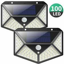 iclover 100led solar lights outdoor