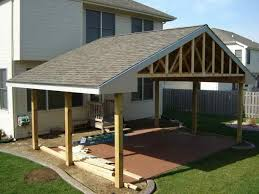 build a patio awning how to build covered patio roof