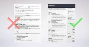 How To Create Resume Resume Dos And Don Ts Knowing Vision How Create An Effective 24 24 12