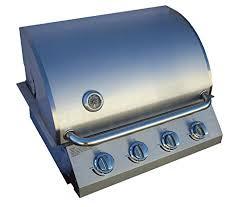 diamondback built in grill 4 burner propane lp natural gas 26 drop stainless ng
