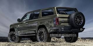 2020 Ford Bronco Four-Door Rendering Is Perfect  O