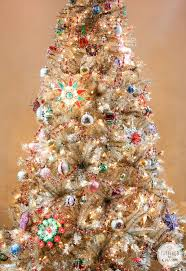 vintage christmas tree pictures. Wonderful Tree Rockinu0027 Around The VintageRockinu0027 Vintage Christmas Tree   Inspired By Charm  In Pictures A