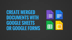 Google Forms Download Charts Create Merge Documents With Google Sheets Or Google Forms
